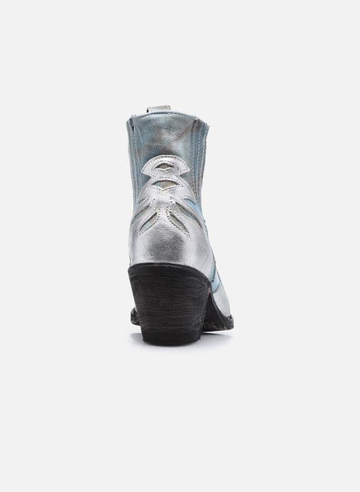 Bottines et boots Mexicana Dandy Bleu vue droite