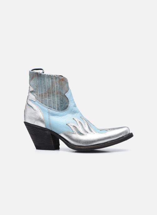 Bottines et boots Mexicana Dandy Bleu vue derrière
