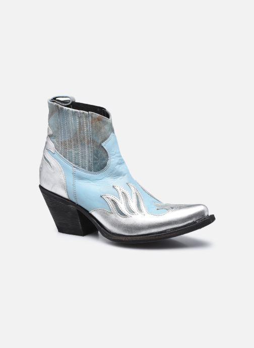 Boots en enkellaarsjes Mexicana Dandy Blauw detail