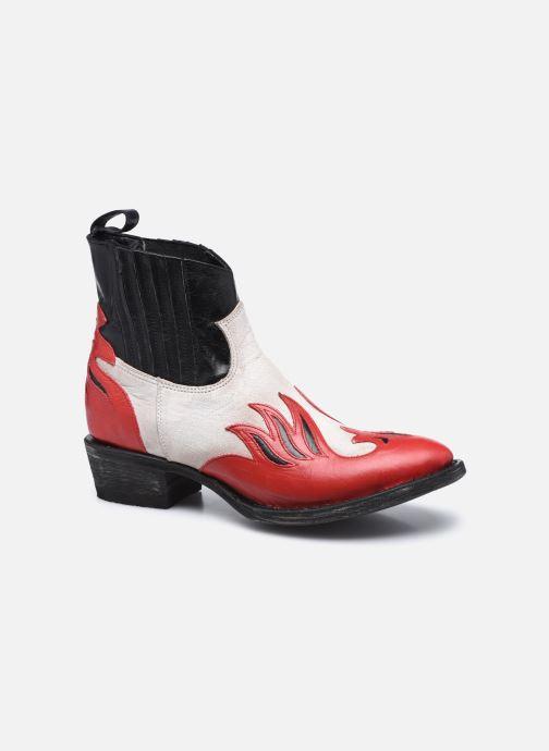 Bottines et boots Mexicana Dandy Rouge vue détail/paire