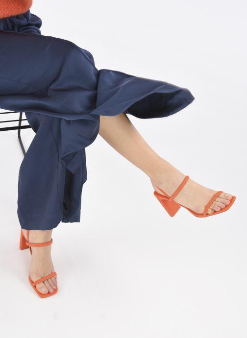 Sandalen Aldo OKURR- SANDALES rot ansicht von unten / tasche getragen