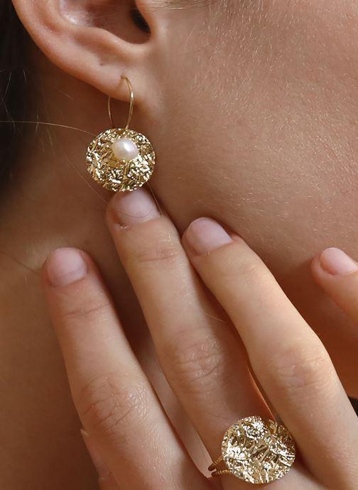 Sonstiges Nilaï Bague Paloma gold/bronze schuhe getragen