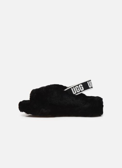 Pantoffels UGG Fab Yeah Zwart voorkant