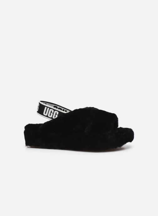Pantoffels UGG Fab Yeah Zwart achterkant