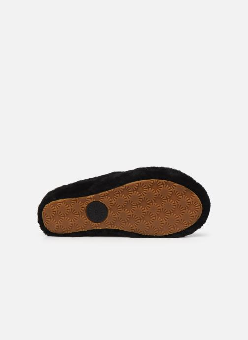 Pantoffels UGG Fab Yeah Zwart boven