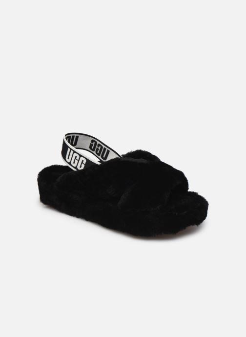 Pantoffels UGG Fab Yeah Zwart detail