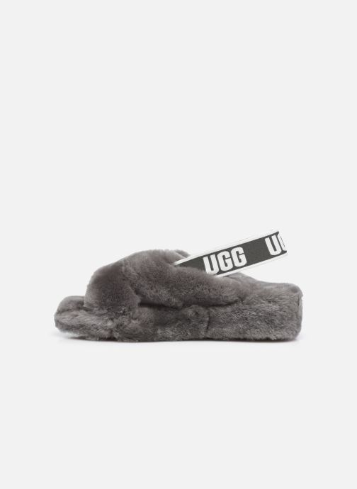 Pantoffels UGG Fab Yeah Grijs voorkant