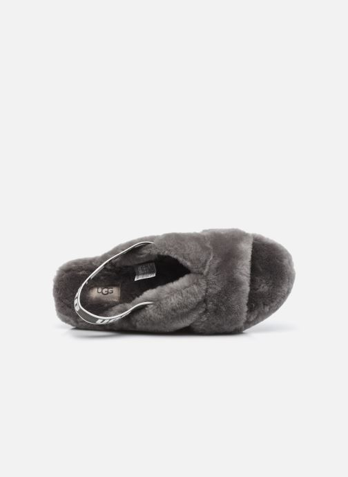 Pantoffels UGG Fab Yeah Grijs links