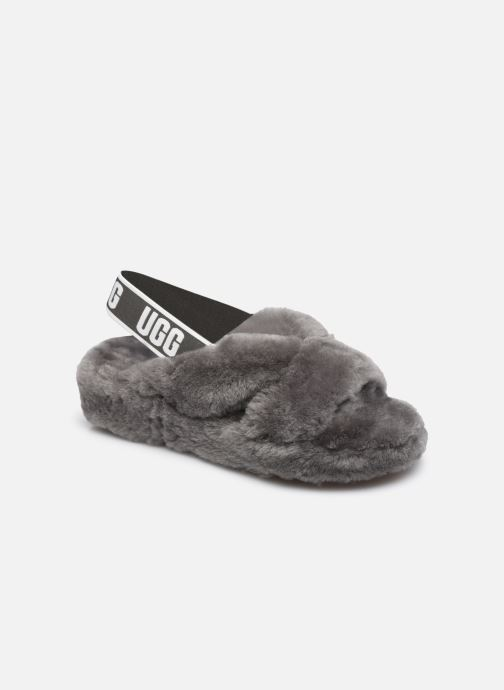Pantoffels UGG Fab Yeah Grijs detail