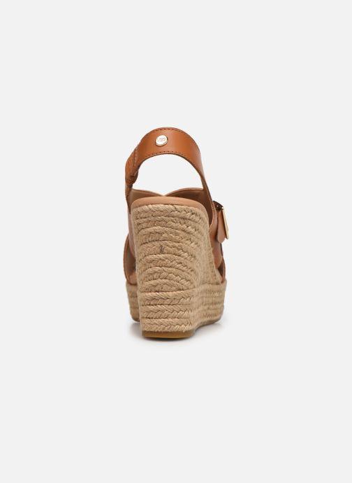 Sandales et nu-pieds UGG Claudeene Marron vue droite