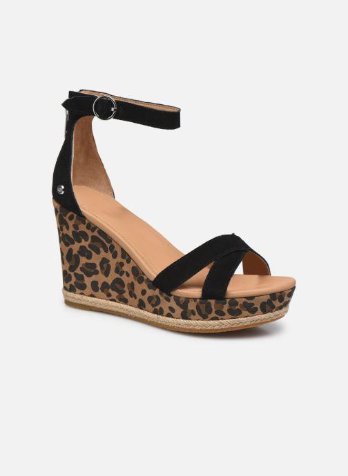 Sandales et nu-pieds Femme Ezrah Leopard