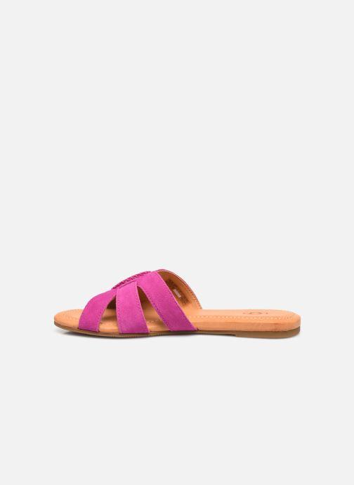Sandalen UGG Teague rosa ansicht von vorne