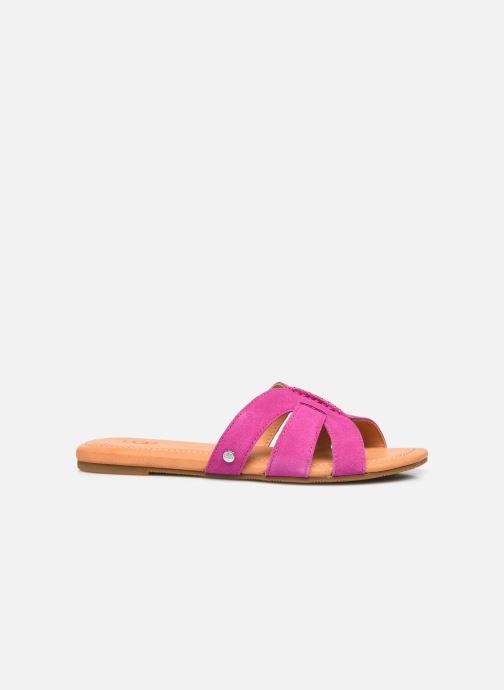 Sandalen UGG Teague rosa ansicht von hinten