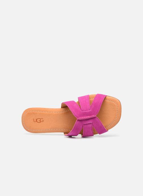 Sandalen UGG Teague rosa ansicht von links