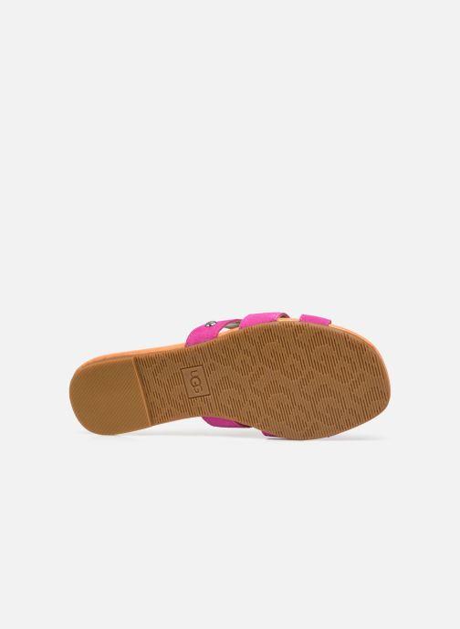 Sandalen UGG Teague rosa ansicht von oben