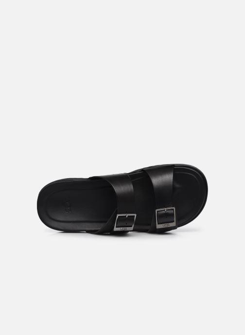 Sandali e scarpe aperte UGG Wainscott Buckle Slide Nero immagine sinistra