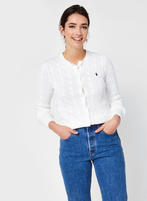 Kleding Polo Ralph Lauren Cn Cardi-Long Sleeve-Sweater Wit detail