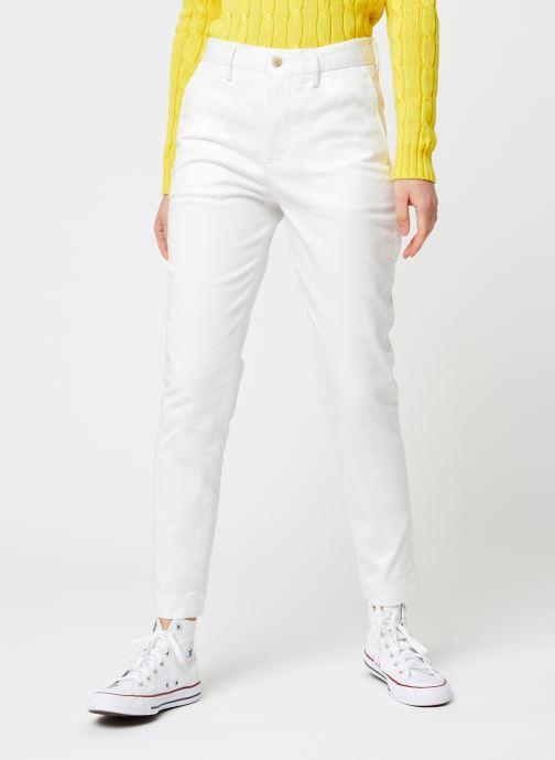Kleding Polo Ralph Lauren Brn Sk Ch-Slim-Slim Leg-Pant Wit detail