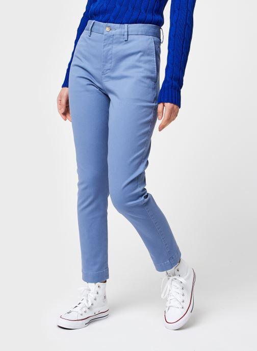 Ropa Polo Ralph Lauren Brn Sk Ch-Slim-Slim Leg-Pant Azul vista de detalle / par