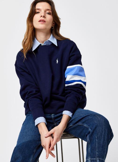 Sweatshirt - Rlxd Ble Str-Long Sleeve-Knit