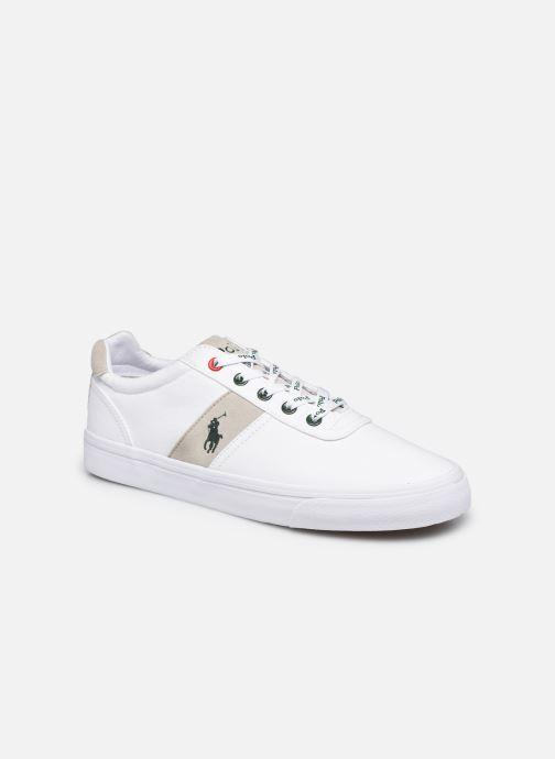 Sneaker Polo Ralph Lauren HANFORD RECYCLED CANVAS weiß detaillierte ansicht/modell