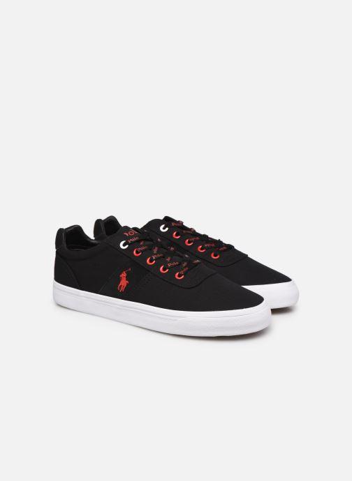 Sneaker Polo Ralph Lauren HANFORD RECYCLED CANVAS schwarz 3 von 4 ansichten
