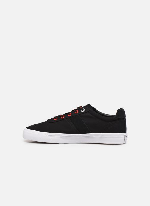 Sneaker Polo Ralph Lauren HANFORD RECYCLED CANVAS schwarz ansicht von vorne