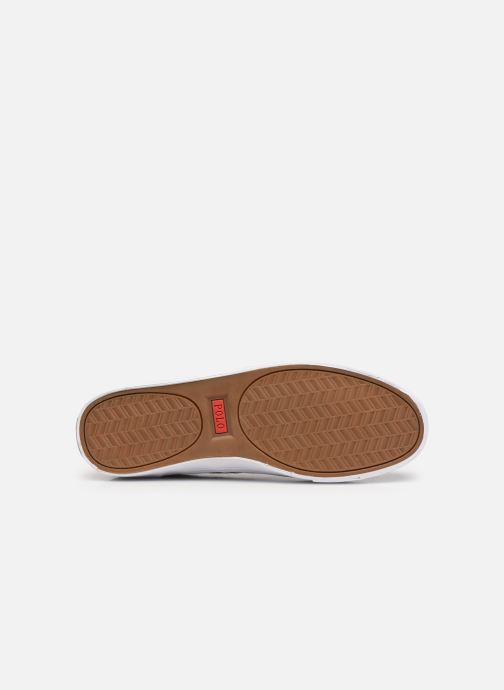 Sneaker Polo Ralph Lauren HANFORD RECYCLED CANVAS schwarz ansicht von oben