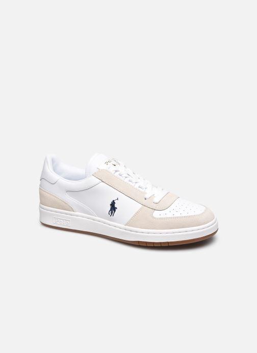 Sneaker Polo Ralph Lauren POLO CRT PP  Suede  Leather M weiß detaillierte ansicht/modell