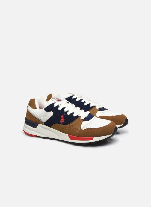 Sneaker Polo Ralph Lauren TRACKSTER PONY MESH SUEDE braun 3 von 4 ansichten