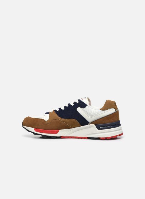 Sneaker Polo Ralph Lauren TRACKSTER PONY MESH SUEDE braun ansicht von vorne
