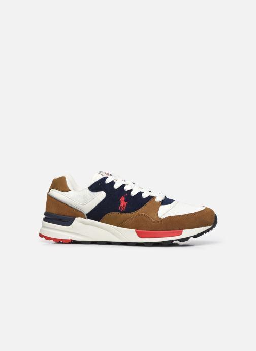 Sneaker Polo Ralph Lauren TRACKSTER PONY MESH SUEDE braun ansicht von hinten