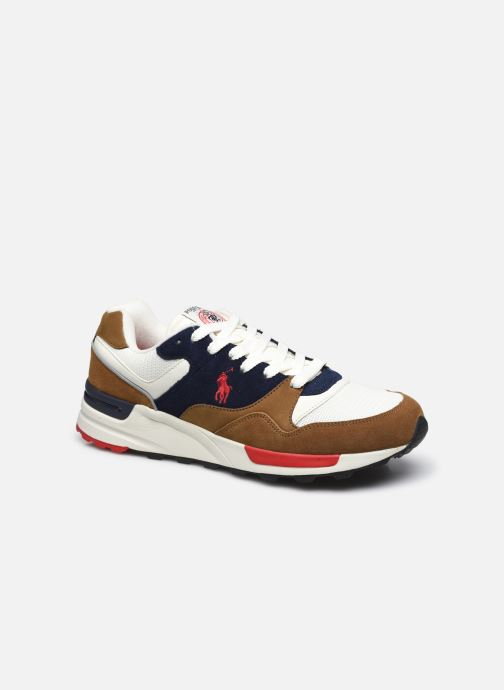 Sneaker Polo Ralph Lauren TRACKSTER PONY MESH SUEDE braun detaillierte ansicht/modell