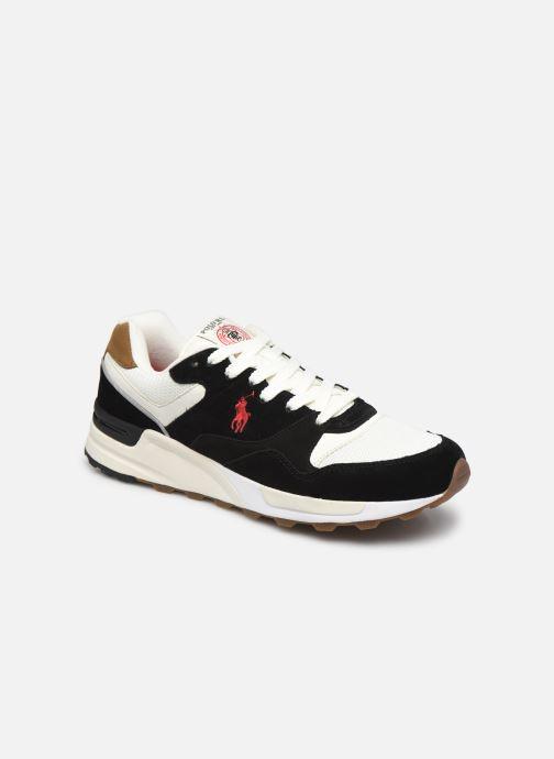 Sneaker Polo Ralph Lauren TRACKSTER PONY MESH SUEDE schwarz detaillierte ansicht/modell