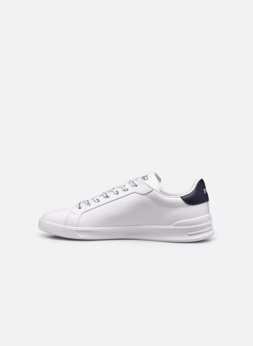 Sneakers Polo Ralph Lauren HRT Ct II Nappa Leather Bianco immagine frontale