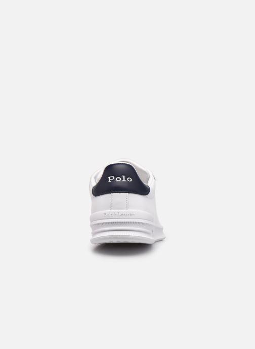 Sneakers Polo Ralph Lauren HRT Ct II Nappa Leather Bianco immagine destra