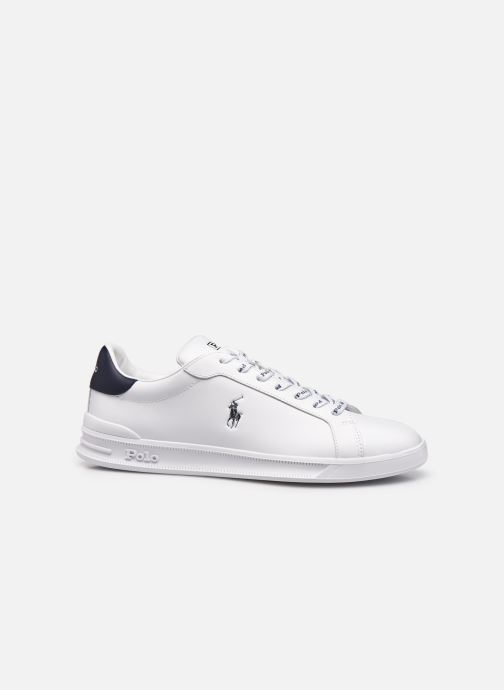 Sneakers Polo Ralph Lauren HRT Ct II Nappa Leather Bianco immagine posteriore