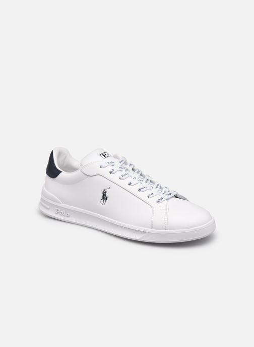 Sneakers Polo Ralph Lauren HRT Ct II Nappa Leather Bianco vedi dettaglio/paio