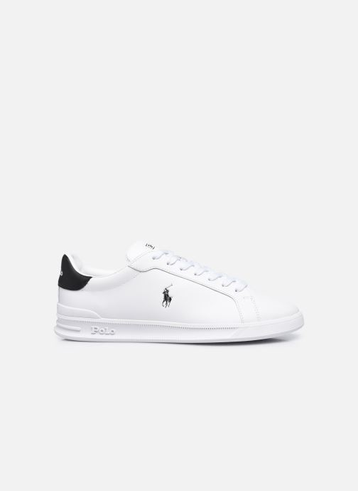 Sneakers Polo Ralph Lauren HRT Ct II Nappa Leather M Bianco immagine posteriore