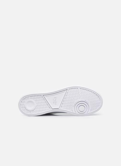 Sneakers Polo Ralph Lauren HRT Ct II Nappa Leather M Bianco immagine dall'alto