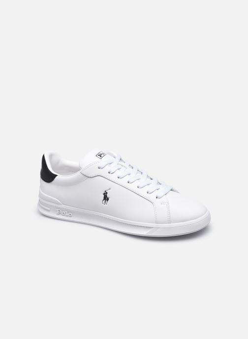 Sneakers Polo Ralph Lauren HRT Ct II Nappa Leather M Bianco vedi dettaglio/paio