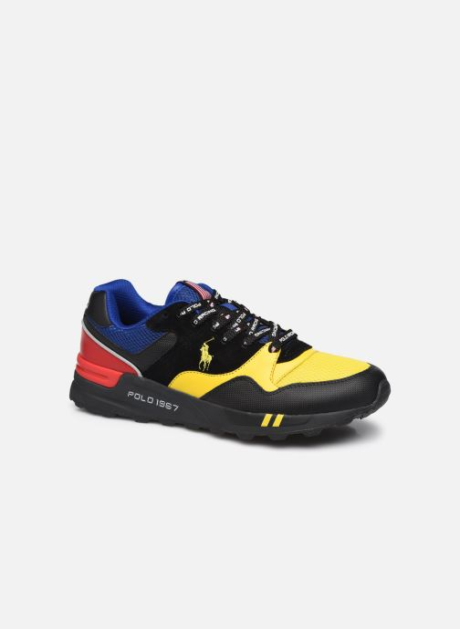 Sneakers Heren TRACKSTER 100 MESH LEATHER