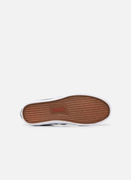 Sneaker Polo Ralph Lauren THORTON PP PRINTED RECYCLED CANVAS blau ansicht von oben