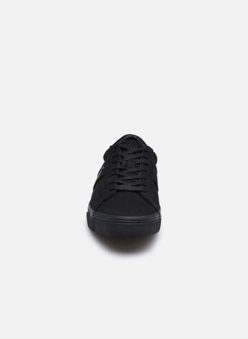 Baskets Polo Ralph Lauren SAYER CANVAS / MULTI PP Noir vue portées chaussures