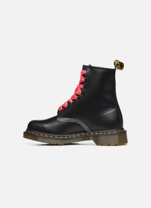 Bottines et boots Dr. Martens 1460 HK+F Noir vue face