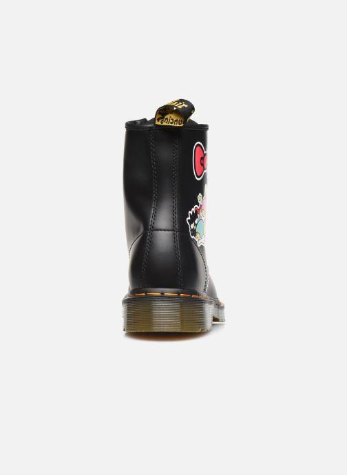 Bottines et boots Dr. Martens 1460 HK+F Noir vue droite