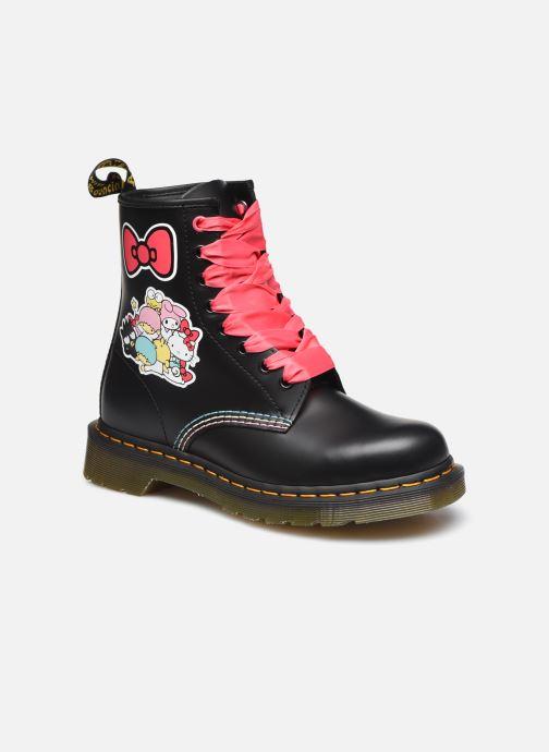 Bottines et boots Dr. Martens 1460 HK+F Noir vue détail/paire