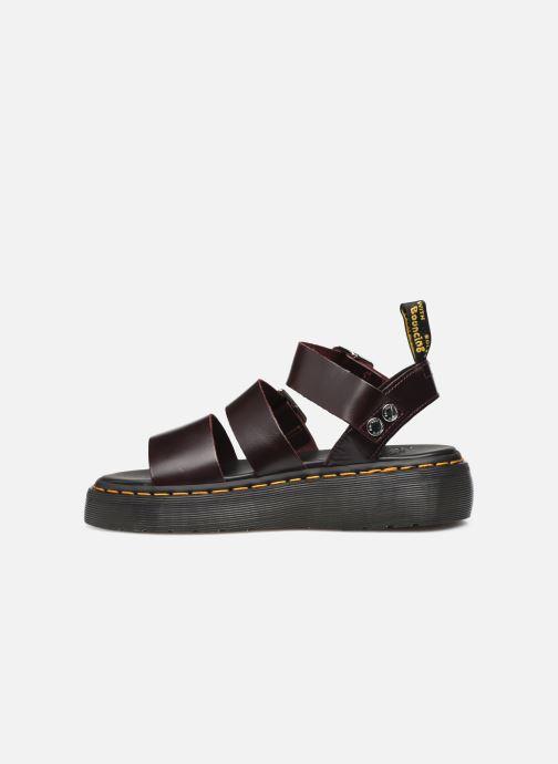 Sandali e scarpe aperte DR. Martens Gryphon Quad Bordò immagine frontale