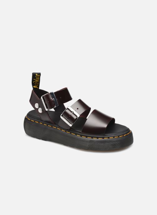 Sandales et nu-pieds Dr. Martens Gryphon Quad Bordeaux vue détail/paire