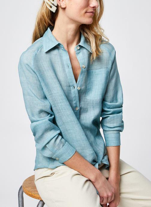 Vêtements The Korner 21113036 Bleu vue détail/paire